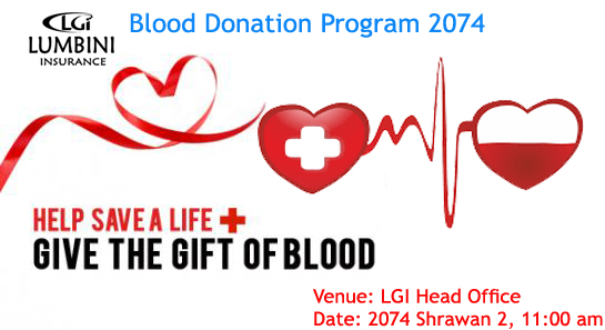 LGI BLOOD DONATION PROGRAM 2074